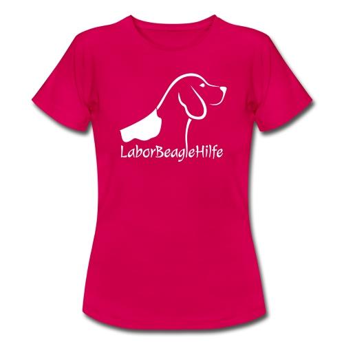 Laborbeaglehilfe Logo - Frauen T-Shirt