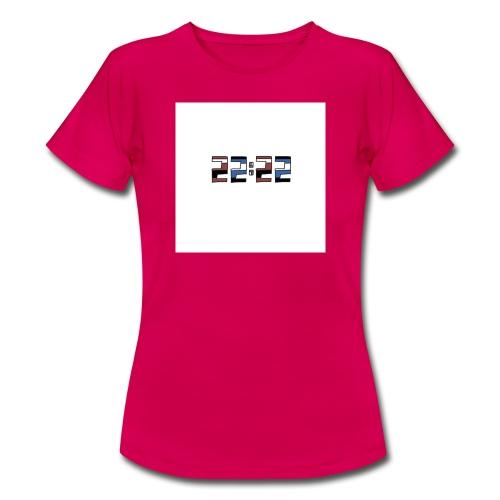 22:22 buttons - Vrouwen T-shirt