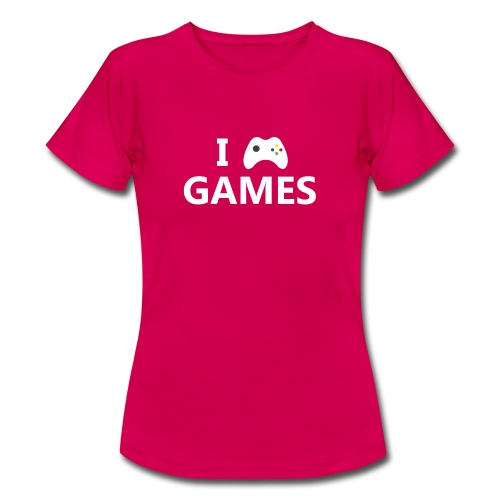I Love Games 2 - Camiseta mujer