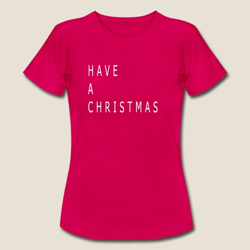 P.C Christmas - Women's T-Shirt