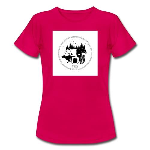 DogExploreEurope - Maglietta da donna