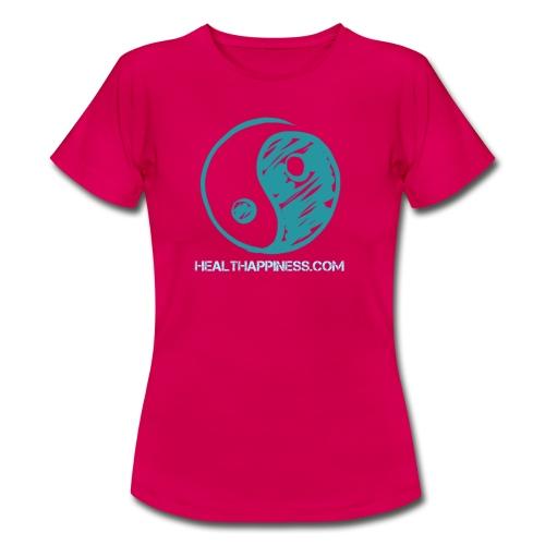 Smileyinyang - Vrouwen T-shirt