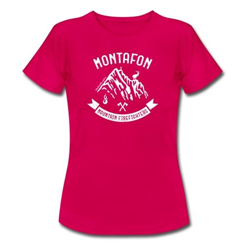 Montafon Edition in Weiß - Frauen T-Shirt