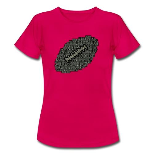 American Football Begriffe - Frauen T-Shirt