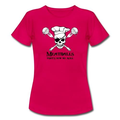 Meatballs - tinte chiare - Maglietta da donna