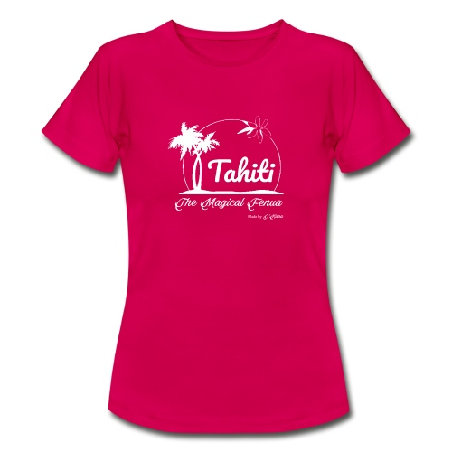 SUNSET Tahiti the magical place - T-shirt Femme