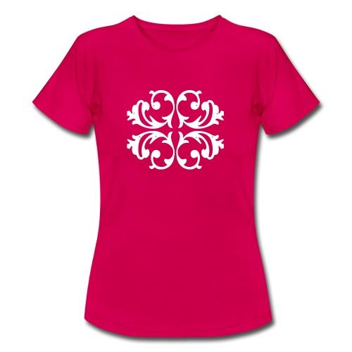 Blumen Muster - Außergewöhnliches Design - Frauen T-Shirt