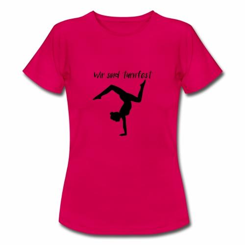 wir sind turnfest - Frauen T-Shirt