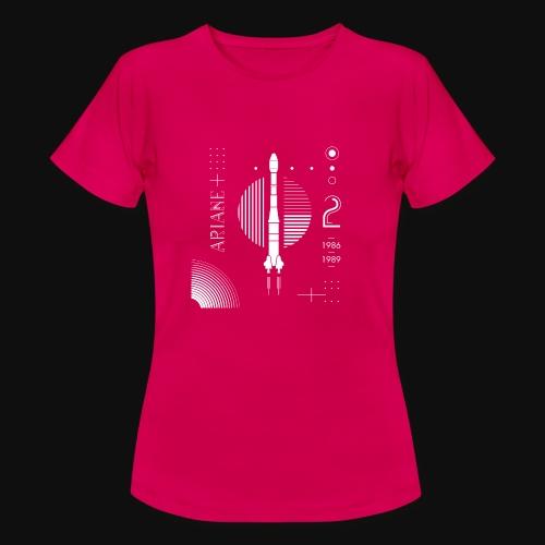 ARIANE 2 - White Patern - Women's T-Shirt
