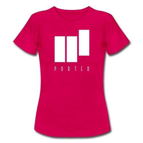 PORTER Sign White - Frauen T-Shirt
