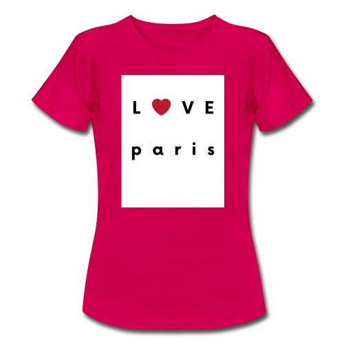 love paris france - T-shirt Femme