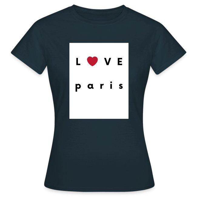 love paris france