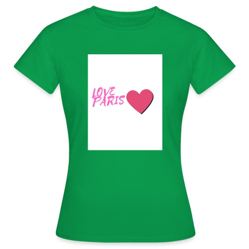 love paris rose - T-shirt Femme