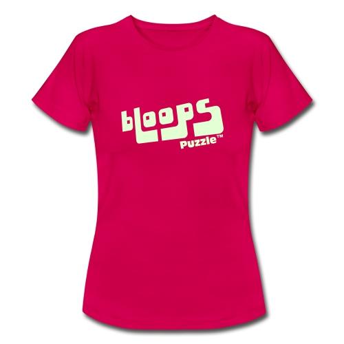 Women's Organic Tank Top bLoops Puzzle™ - T-skjorte for kvinner