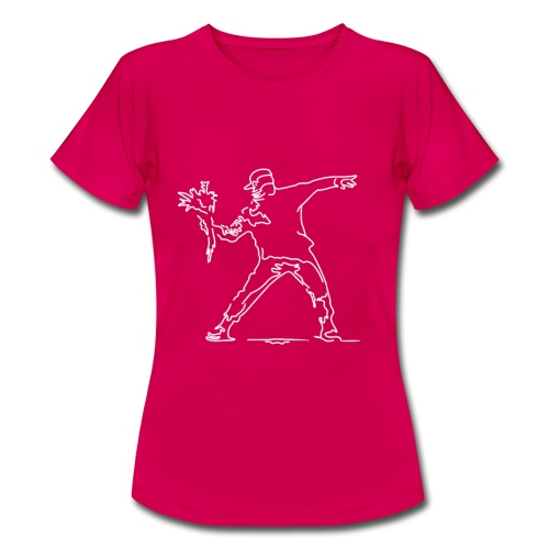 Blumenwerfer - Frauen T-Shirt