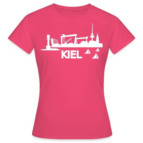 KIEL skyline - Frauen T-Shirt