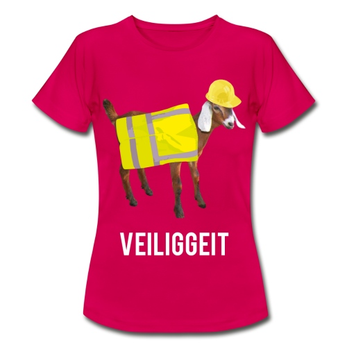 Veiliggeit - Vrouwen T-shirt