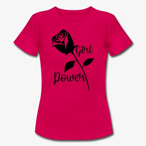 GirlPower - Frauen T-Shirt