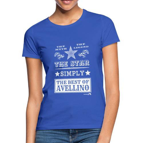 1,03 The Star Legend Avellino Bianco - Maglietta da donna