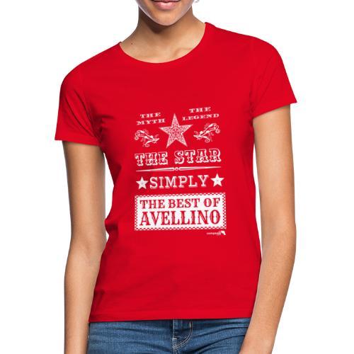 1,03 The Star Legend Avellino Bianco - Maglietta da donna