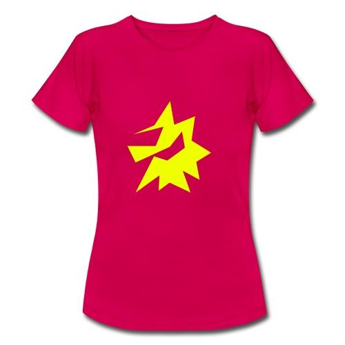 Gelbe Zeichnung / Pflegestufe Single - Frauen T-Shirt