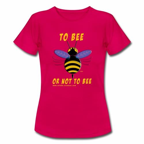 Bee Jaune - T-shirt Femme