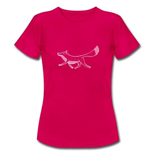 Kreide-Fuchs - Frauen T-Shirt
