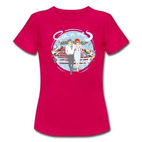 Ville Cannes by Strob - T-shirt Femme