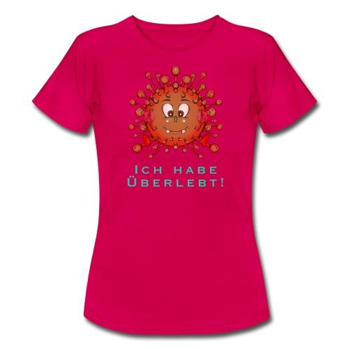 Covid-19 - ich habe überlebt - Frauen T-Shirt