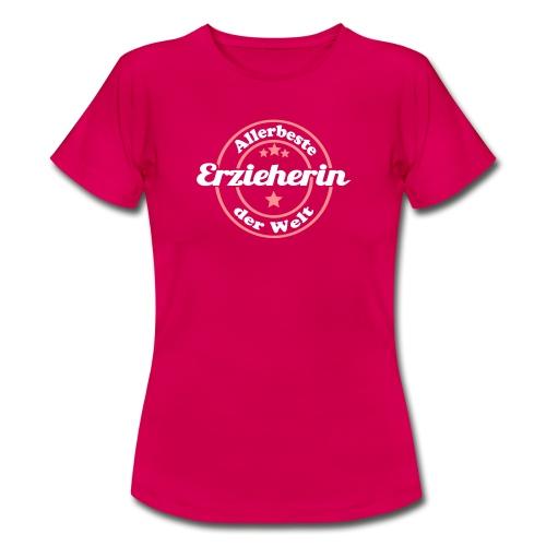 Erzieherin Stern - Frauen T-Shirt