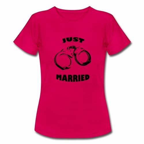 just married - Frauen T-Shirt
