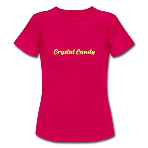 Camiseta basica CrystalCandy - Camiseta mujer