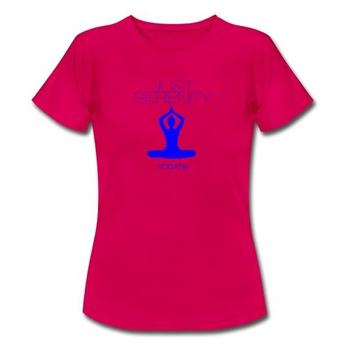 yogatyk blue - T-shirt Femme