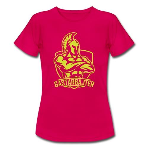 gastarbajter logo spartan neon yellow png - Frauen T-Shirt