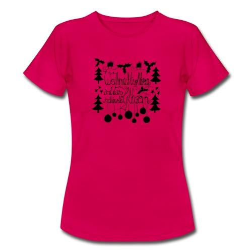 Weihnachtsglitzern - Frauen T-Shirt