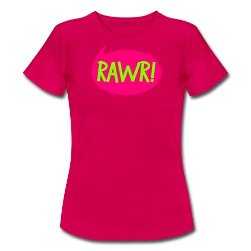 BOZILLA RAWR - Frauen T-Shirt