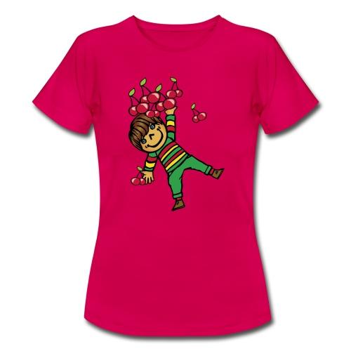 08 kinder kapuzenpullover hinten - Frauen T-Shirt