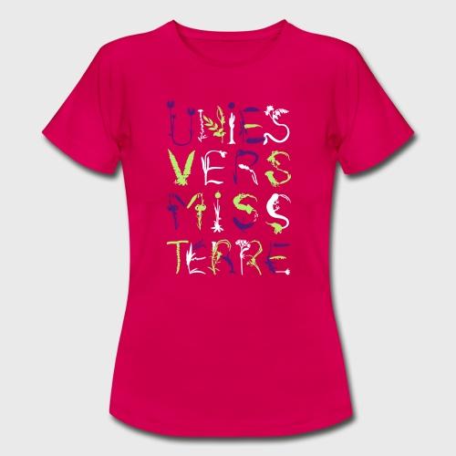 Univers Mystère - T-shirt Femme