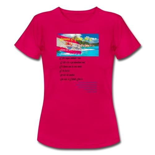15 HYMNE TAHITI - T-shirt Femme