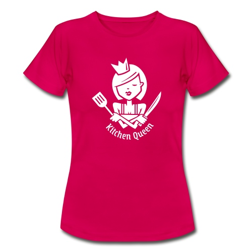 VL126_KitchenQueen_1c_inv - Frauen T-Shirt