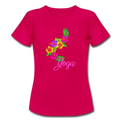 yoga exotic flower - T-shirt Femme