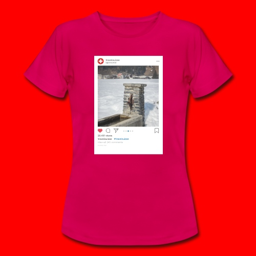 travelsuisse - Brunnen Trin - Frauen T-Shirt