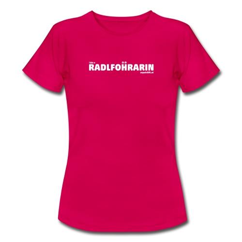supatrüfö radlfohrarin - Frauen T-Shirt