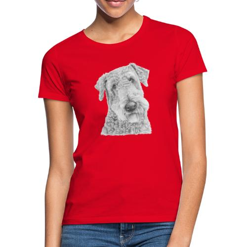 airedale terrier - Dame-T-shirt