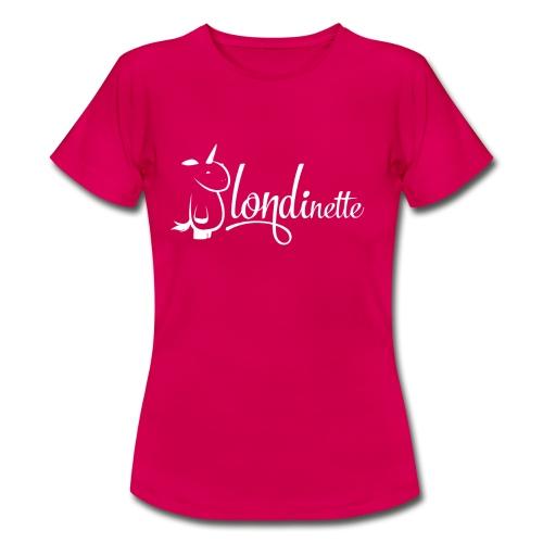 Blondinette - T-shirt Femme
