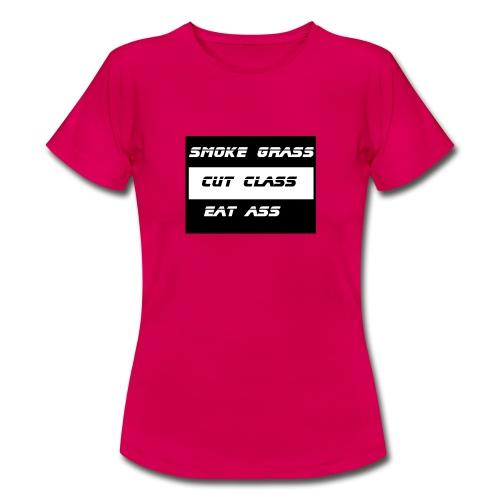 Smoke, Cut, Eat - Women's T-Shirt
