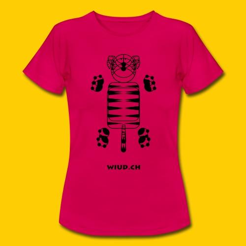 WIUD Tiger - Frauen T-Shirt