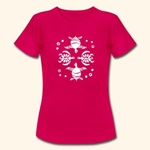 Unterwasserwelt mit Schildis - Frauen T-Shirt