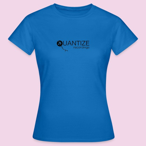 Quantize Black Logo - Women's T-Shirt