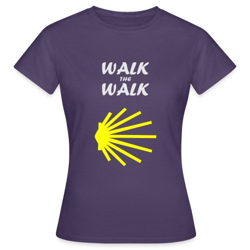 Walk the Walk - Camino de Santiago - Dame-T-shirt